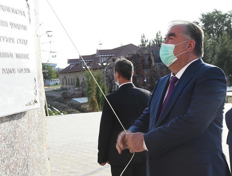 Ифтитоҳ Қасри фарҳанг дар маркази ноҳияи Мастчоҳ   14.09.2020