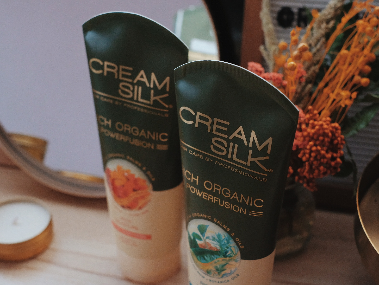 The New Cream Silk Rich Organic Powerfusion Ultra Conditioner