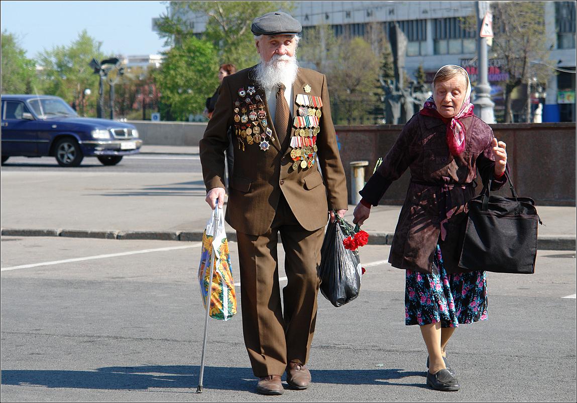 190. 2006. 2006 год. Москва. Встреча ветеранов ВОВ в парке им. Горького
