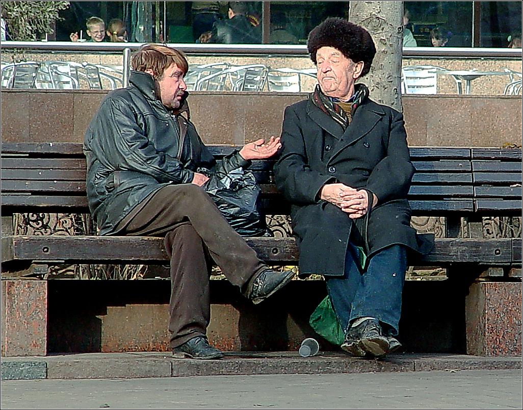 185. 2004. Разговор о жизни