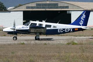 EC-EPX. PA-34T Seneca. Air Pal. LESB.