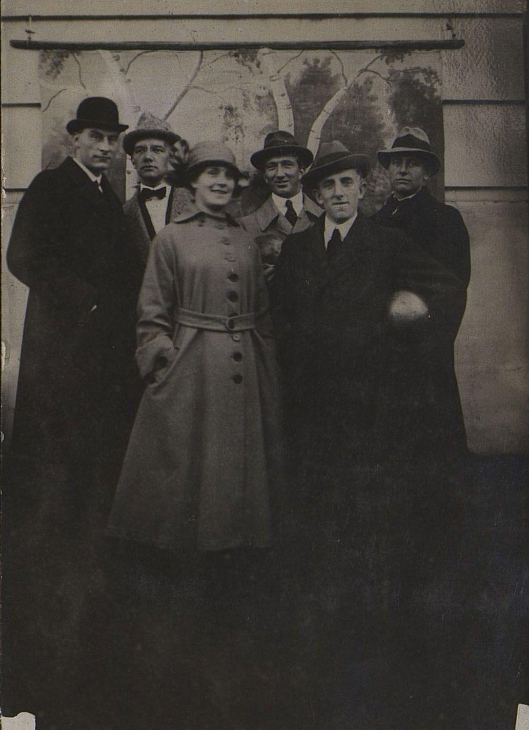 Групповой портрет. Новониколаевск. 1918
