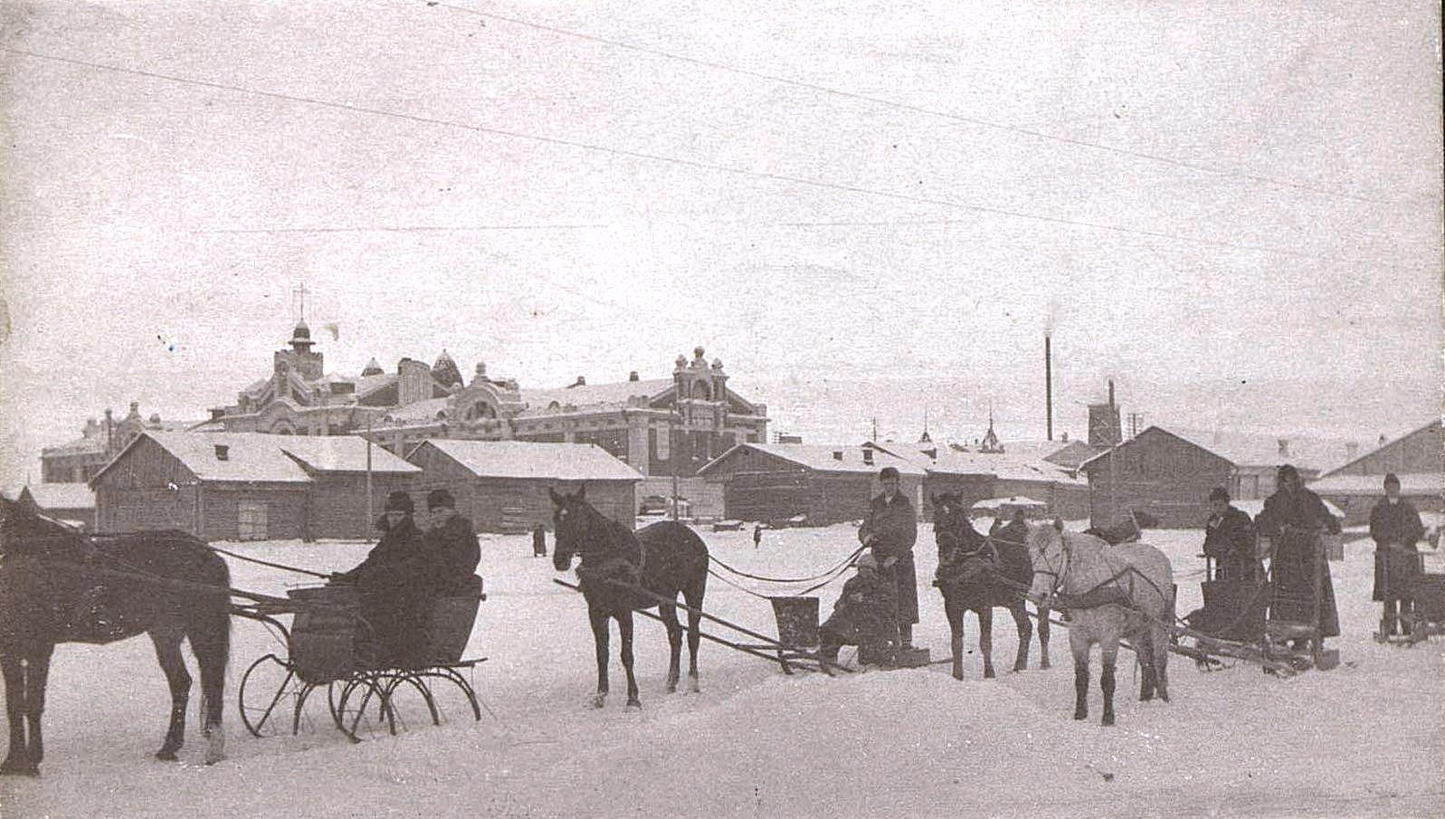 Виды зимних выездов. 1919