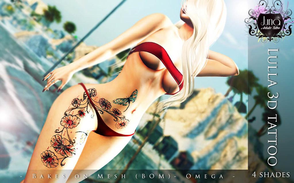 Lulla 3D tattoo