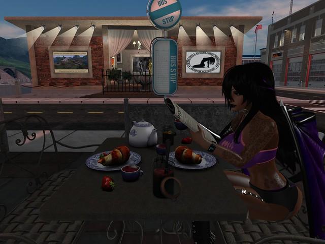 Breakfast at Chi Tau.