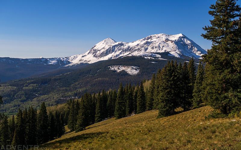 Dolores Peak & Middle Peak