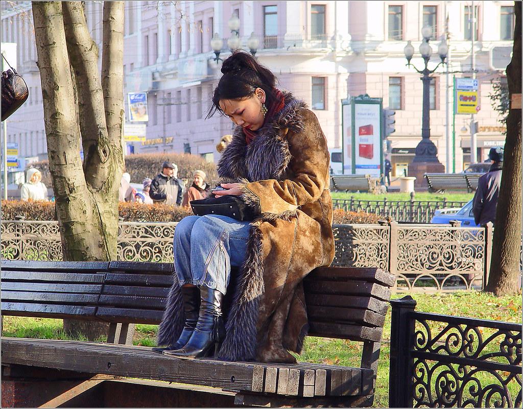 183. 2003. Сквер на Пушкинской, ноябрь