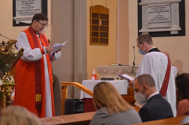 Ordination of the Revd Iain Aleavey in Glendermott.