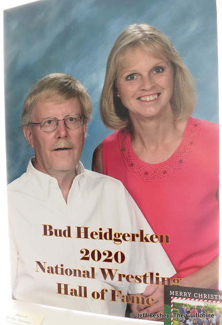 2020 National Wrestling Hall of Fame, Minnesota Chapter Outstanding American from Minnesota Bud Heidgerken. 200913AJF0883
