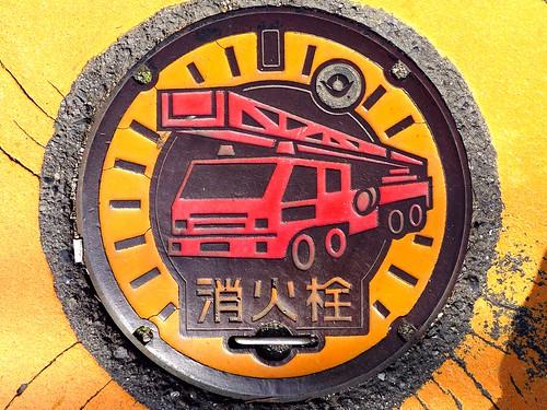 Hashimoto Wakayama, manhole cover 7 (和歌山県橋本市のマンホール7)