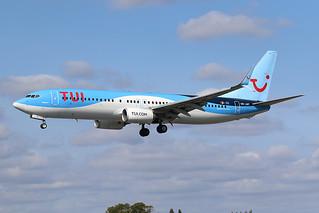 OO-JAY Boeing B737-800 TUI Airlines Belgium LIL