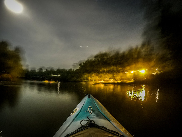 Moonlight Paddle on the Saluda River-24