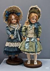 En la exposición de muñecas