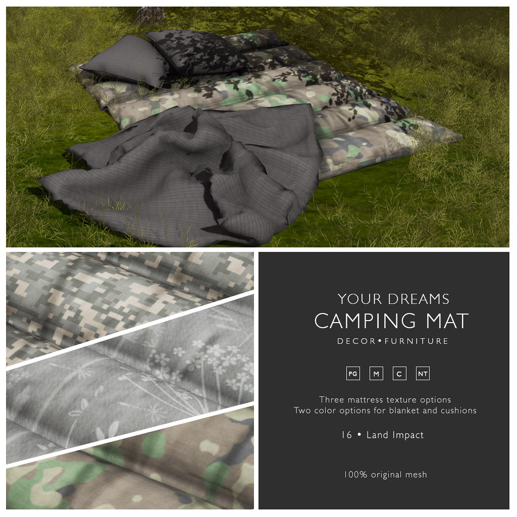 {YD} Camping Mat