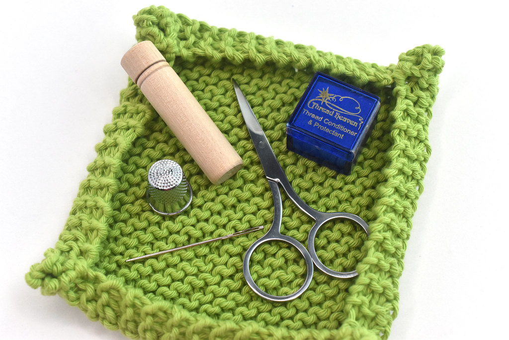 Mini Tray Knitting Pattern