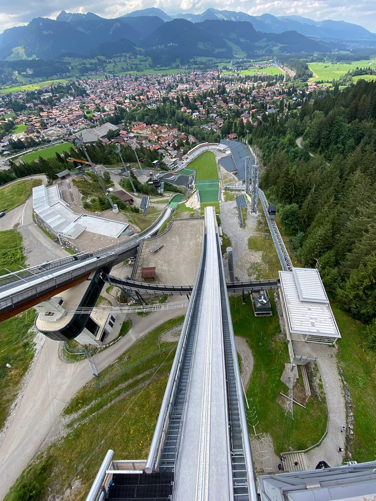 """Oberstdorf - Sky or Ski jumping into the heaven. ☆ """"Thanks for the Flickr explore"""