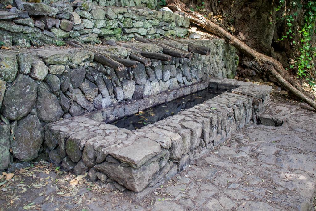Chorros de Epina en el norte de La Gomera