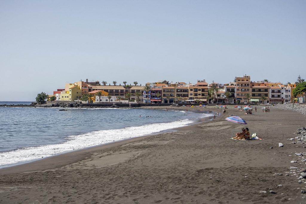 Playa La Calera en Valle Gran Rey