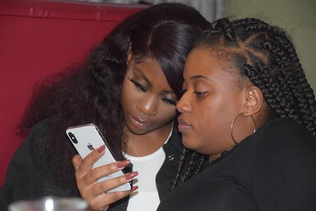 DSC_6508 Mwice aka Sadie Sinner the Songbird Birthday Party at Deluxe Manna DRC African Restaurant Hackney Wick London. I-phone Selfie Photos