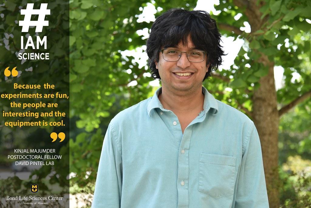 #IAmScience Kinjal Majumder