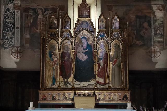 Madonna in trono con il Bambino e i santi