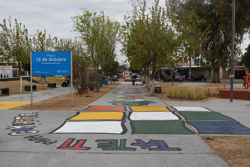 Intervención cultura - Plaza 12 de octubre de Villa el Libertador (9)