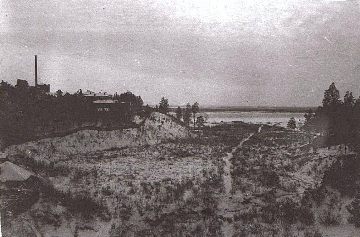 Зимний пейзаж. Ново-Николаевск. 1919