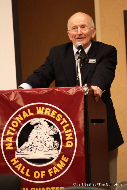 2020 National Wrestling Hall of Fame, Minnesota Chapter Lifetime Service inductee Don Kuusinen. 200913AJF0077
