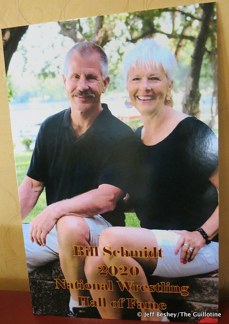 2020 National Wrestling Hall of Fame, Minnesota Chapter Lifetime Service inductee Bill Schmidt. 200913AJF0876