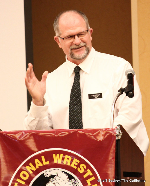 2020 National Wrestling Hall of Fame, Minnesota Chapter Lifetime Service inductee Tom Beyer. 200913AJF0037