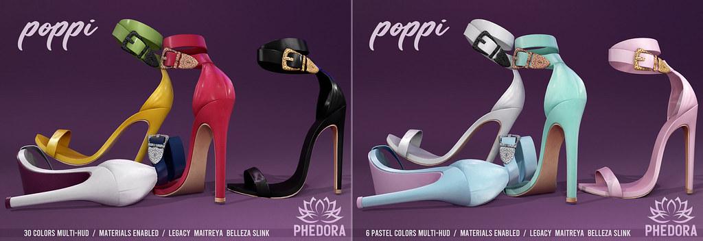 """Phedora. for Uber – """"Poppi"""" Heels ♥"""