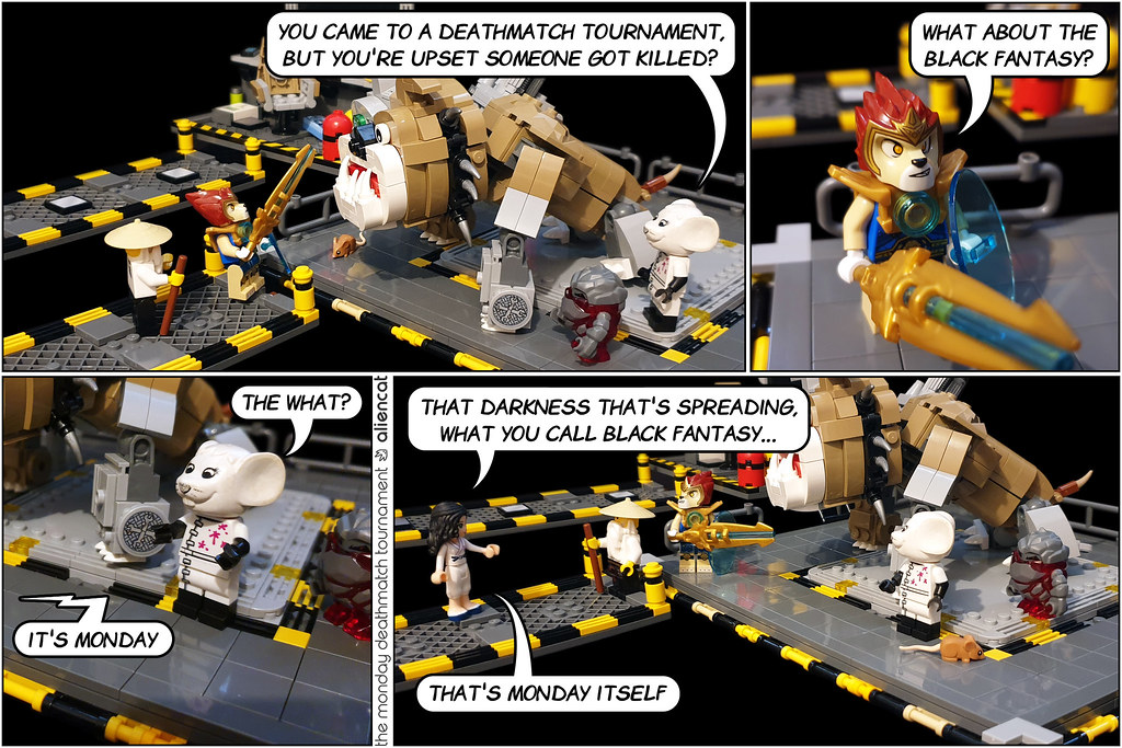 The Monday Deathmatch Tournament - Page 177: The Mouse Tower