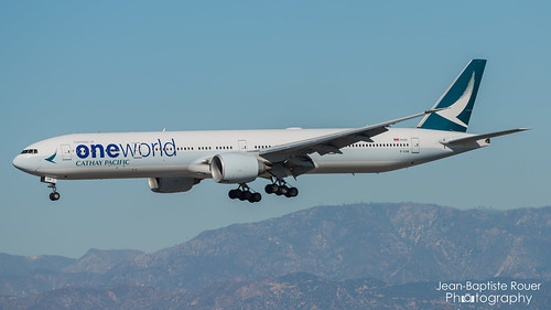 """Boeing 777-367(ER) Cathay Pacific """"Oneworld Livery"""" - B-KQM"""