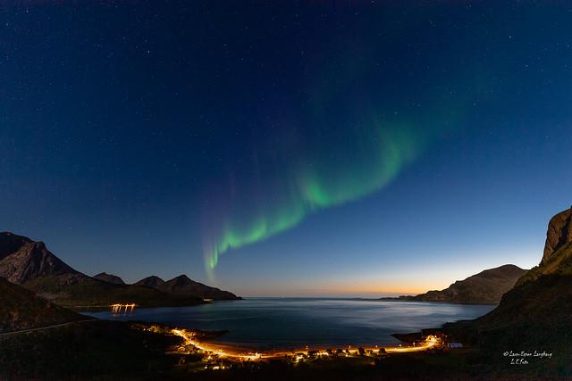First aurora of the season.