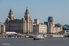 Ferry crossing the Mersey