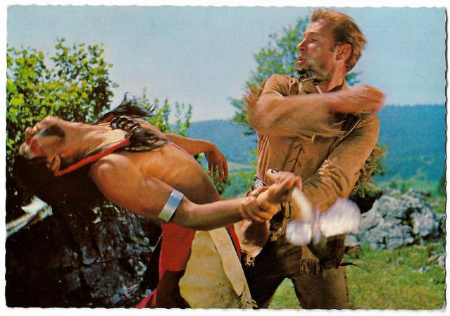 Lex Barker in Winnetou I. Teil (1963)