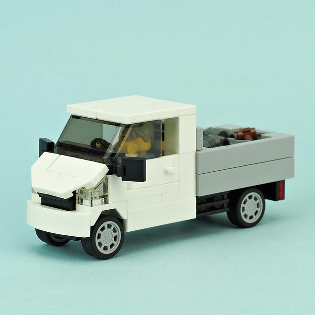 Small White Truck