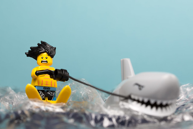 Water skiing.....
