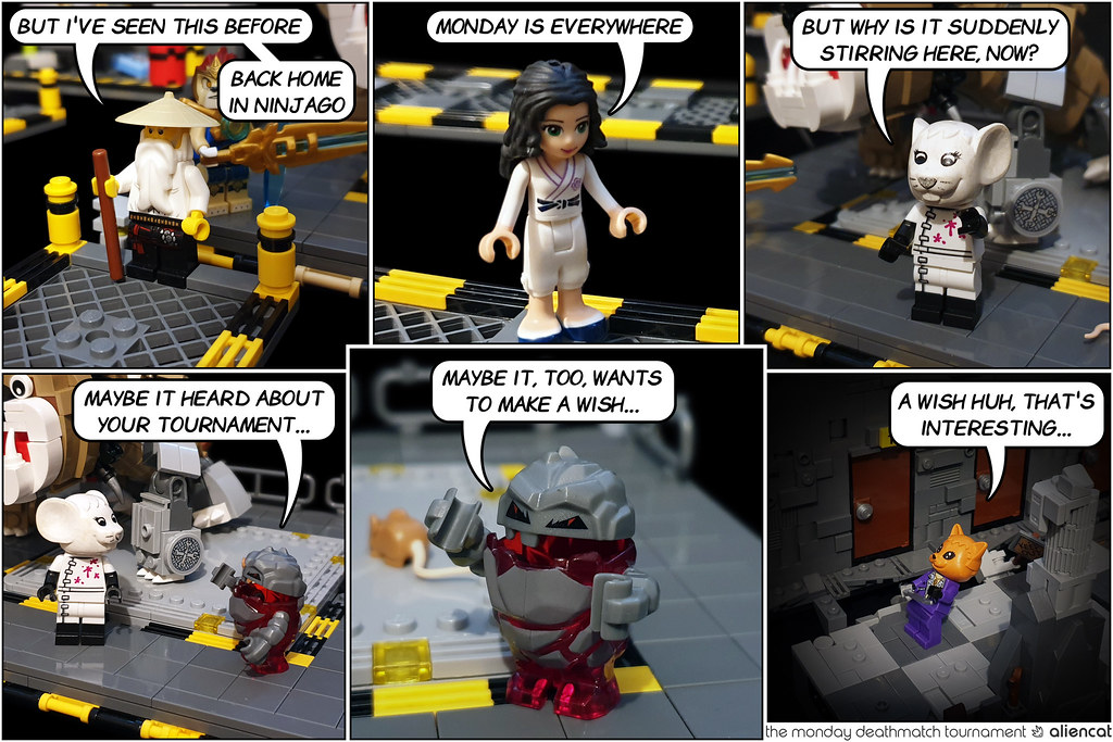 The Monday Deathmatch Tournament - Page 178: The Mouse Tower