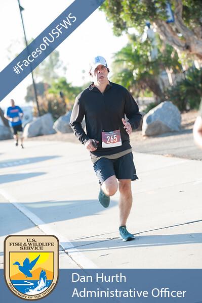 Dan Marathon with banner
