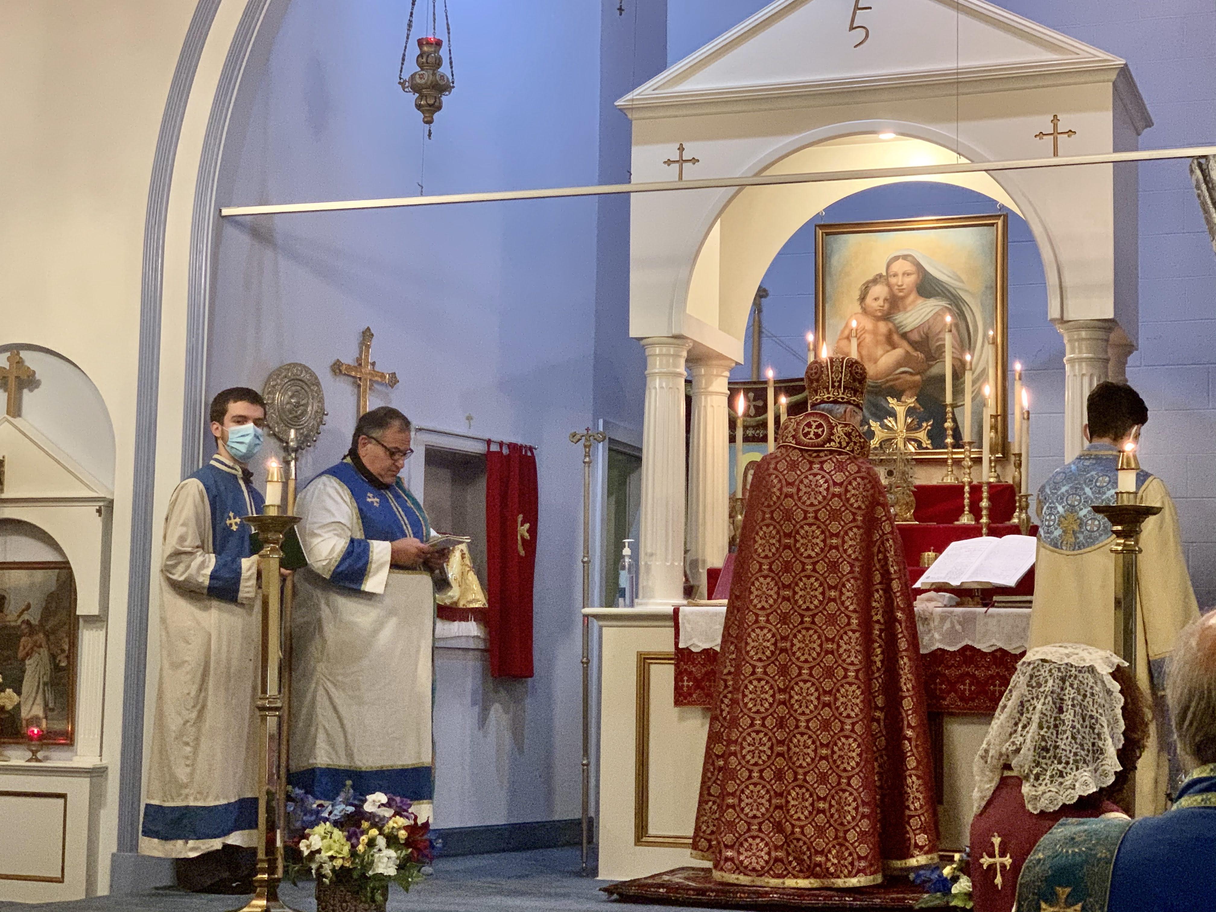St. Leon Altar Servers Visit St. George
