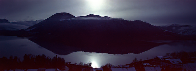 Dark Mountain  (Portra 400)