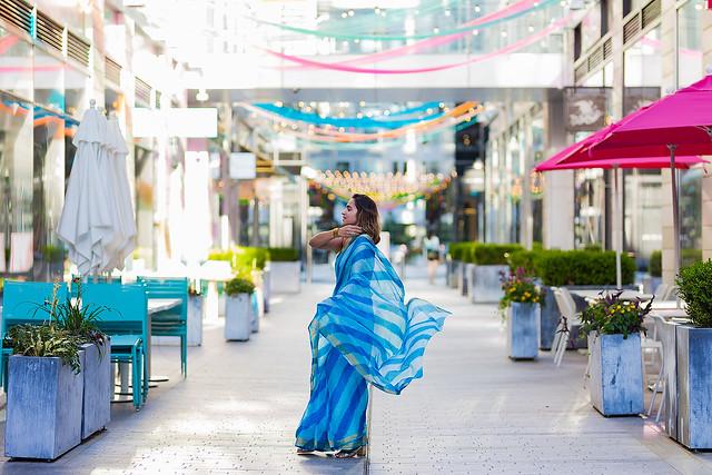 Leheria Saree Shot At City Center