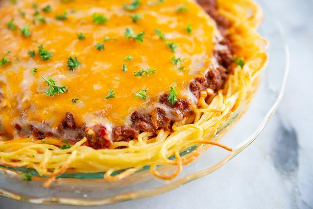 Classic Spaghetti Pie