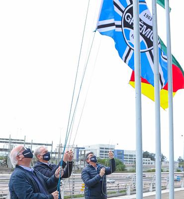 Hasteamento das bandeiras 14/09/2020