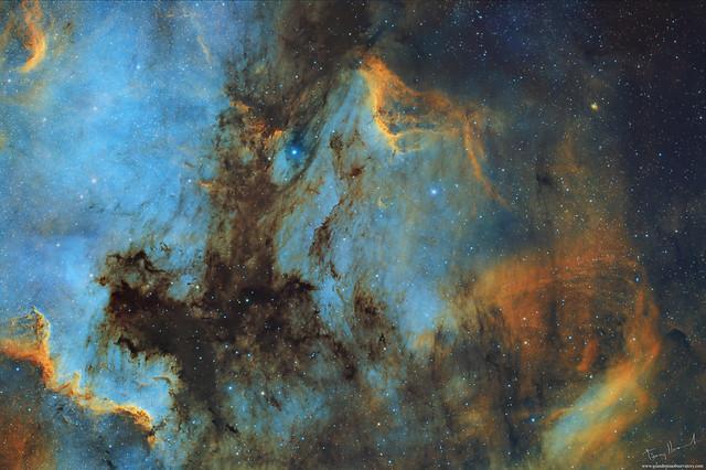 Shadows Of The North America Nebula