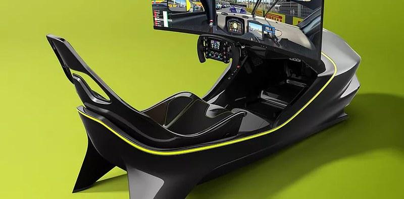 AMR-C01 Racing Simulator Rear