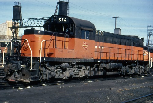 576 in Milwaukee, only a year after being rebuilt into the platonic ideal of a road switcher