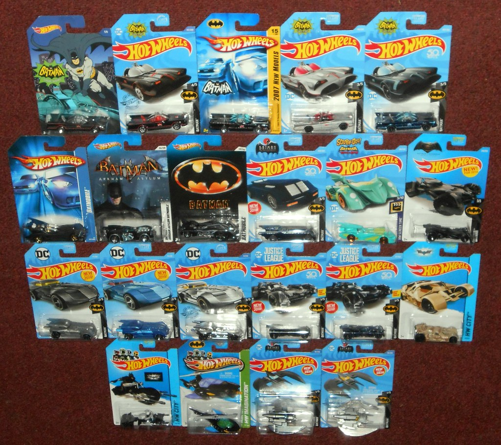 Hot Wheels - Batman Cars