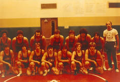 1979-80 Alma Wrestling Team